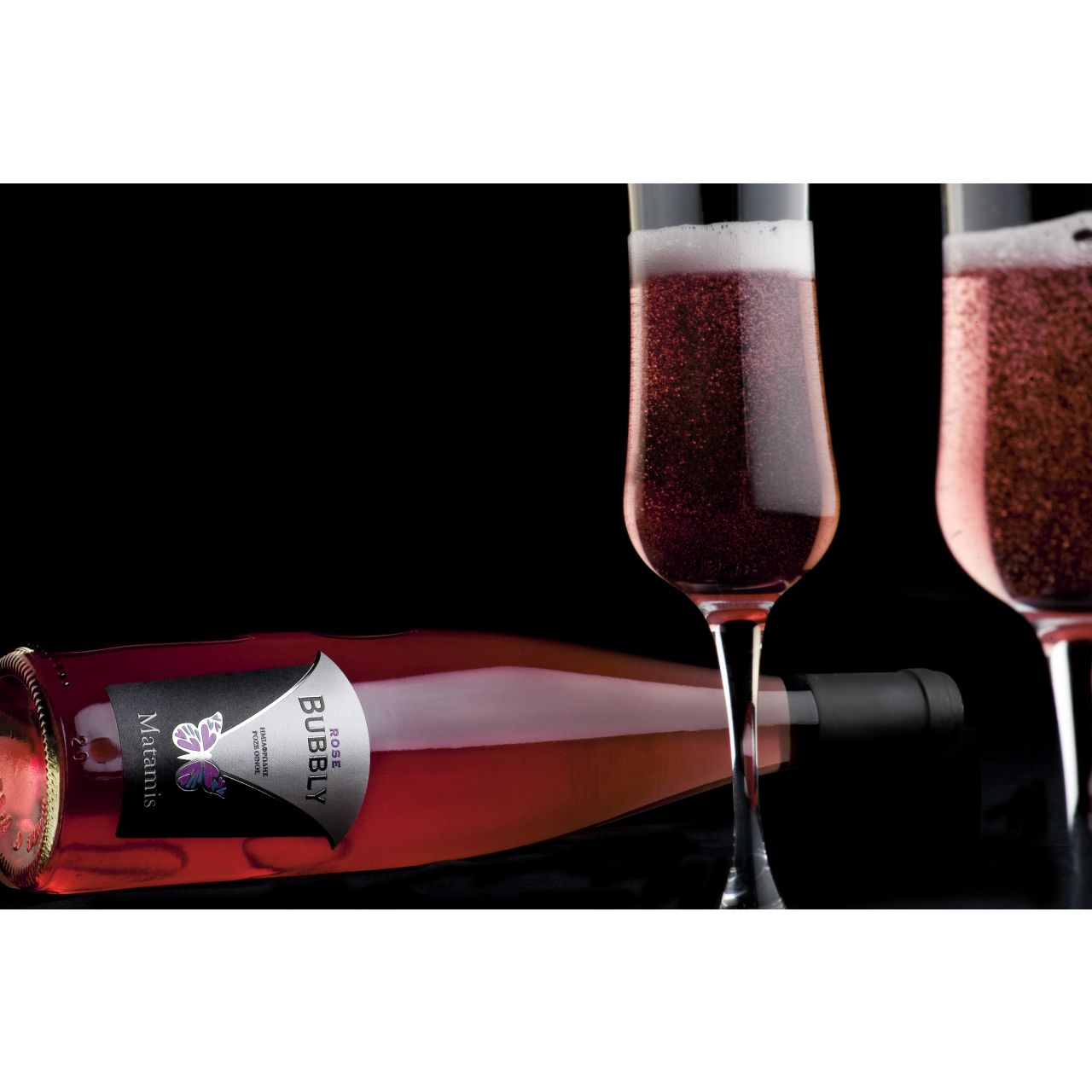 Vin Spumos Rose Bubbly Matamis Wines